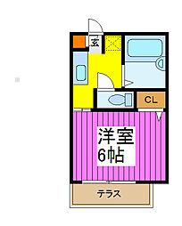 LIMOUSINE[2階]の間取り