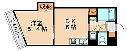 キトミ壱番館[7階]の間取り