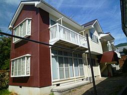 長野県諏訪市元町の賃貸アパートの外観
