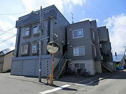 北海道札幌市西区発寒十条5丁目の賃貸アパートの外観