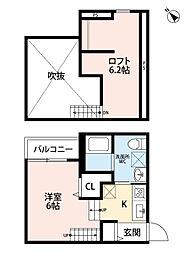 新築 トスカーニ[203号室号室]の間取り