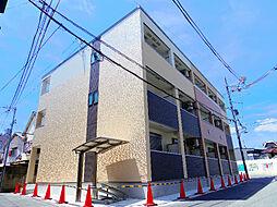 大阪府大阪市東成区神路4丁目の賃貸アパートの外観