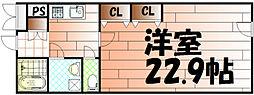 NO63オリエントキャピタルタワー[506号室]の間取り