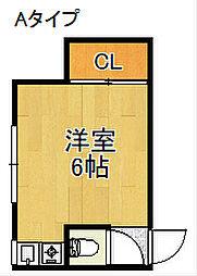 Regalo聖天下[2階]の間取り