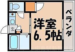 広島県広島市東区戸坂山根1丁目の賃貸マンションの間取り