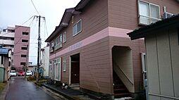 秋田県大仙市大曲白金町の賃貸アパートの外観