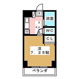 417ハイツ[1階]の間取り