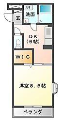 ヴィラマルシェ[1階]の間取り