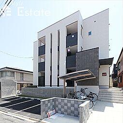 愛知県名古屋市瑞穂区萩山町1丁目の賃貸アパートの外観
