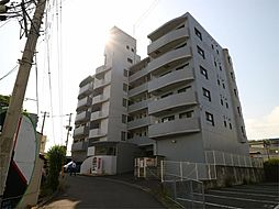 福岡県宗像市田熊4丁目の賃貸マンションの外観