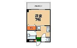 BSマンションII[405号室]の間取り