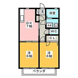 エミネンス[1階]の間取り