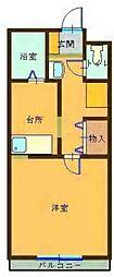 コンパートメントWクエストII[1101号室]の間取り