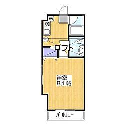 メゾン朋泉高砂[6階]の間取り