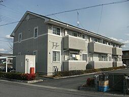 滋賀県蒲生郡日野町松尾4丁目の賃貸アパートの外観