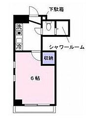 神奈川県藤沢市辻堂1丁目の賃貸マンションの間取り