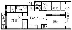 Maison KiRaRa(メゾンキララ)[306号室号室]の間取り