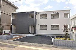 埼玉県東松山市六反町の賃貸アパートの外観