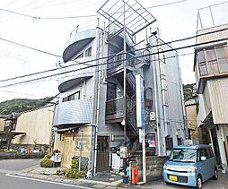 京都府京都市西京区嵐山上海道町の賃貸マンションの外観