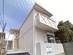 兵庫県神戸市東灘区御影中町4丁目の賃貸アパートの外観