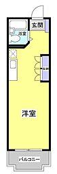 スカイロイヤル12[2-B号室]の間取り