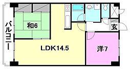ハイシティ松山[903 号室号室]の間取り