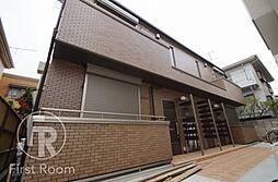 東京都大田区西六郷2丁目の賃貸マンションの外観