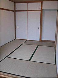 6帖の和室でゆったりとした空間
