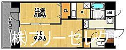グロースメゾン博多山王[2階]の間取り