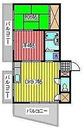 KTビル[8階]の間取り