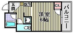Rovere Ozaki[3A号室]の間取り