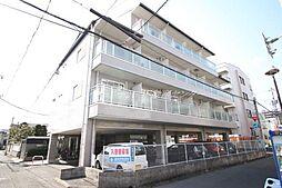 岡山県岡山市北区厚生町1丁目の賃貸マンションの外観