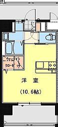 California APT ~カリフォルニア アパートメント~ 8階ワンルームの間取り