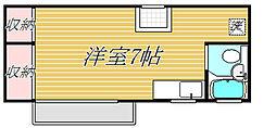 横森ビル[4階]の間取り