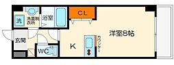フローライト上新庄駅前[7階]の間取り