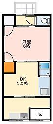 近鉄南大阪線 河内松原駅 徒歩35分の賃貸アパート