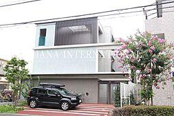 東京都調布市国領町4丁目の賃貸マンションの外観