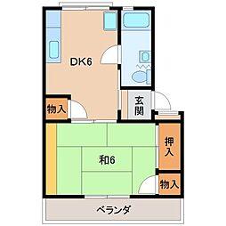 太田団地[1階]の間取り