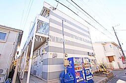 東京都三鷹市深大寺3丁目の賃貸アパートの外観