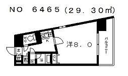 エルシオン[205号室号室]の間取り