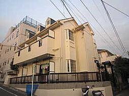 神奈川県川崎市高津区梶ケ谷2丁目の賃貸アパートの外観