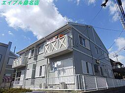 レジデンスFUJIGAOKA E棟[2階]の外観