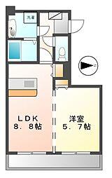 ジュジュ(Ju・Ju)[2階]の間取り