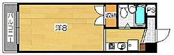 エクランドール(201)[2階]の間取り