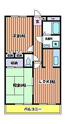 寺澤ビル[2階]の間取り