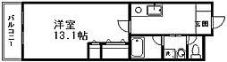 田辺ビル[4階]の間取り