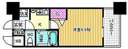 エステムコート大阪城北天満の杜[3階]の間取り