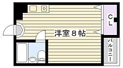 マンション吉見[305号室]の間取り