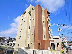 奈良県生駒市西松ケ丘の賃貸マンションの外観