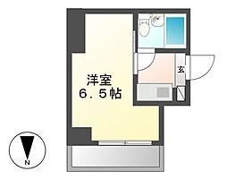 ジュネス平松[1階]の間取り